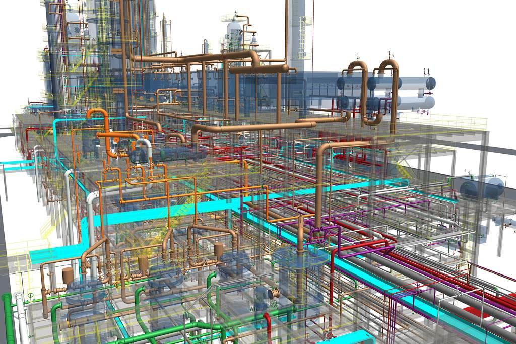 jaderná energie - Techmagazín: Multi-D: Výstavba jaderné elektrárny moderně a včas. - Nové bloky ve světě (multi d 3d model 1024) 1