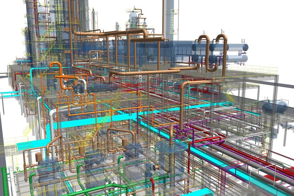 jaderná energie - Techmagazín: Multi-D: Výstavba jaderné elektrárny moderně a včas. - Nové bloky ve světě (multi d 3d model 1024) 3