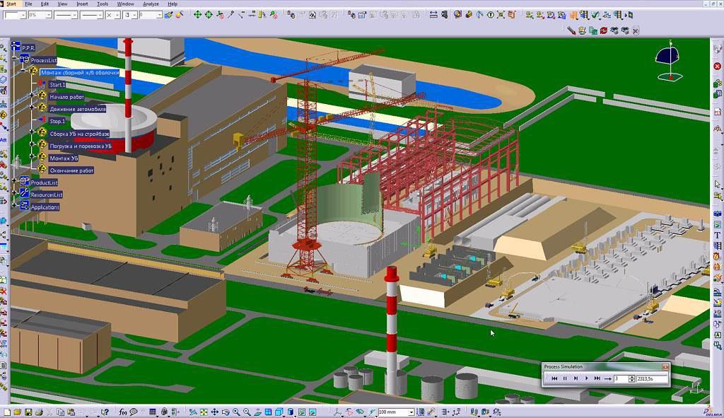 jaderná energie - Techmagazín: Multi-D: Výstavba jaderné elektrárny moderně a včas. - Nové bloky ve světě (multi d planovani transportu 1024) 3