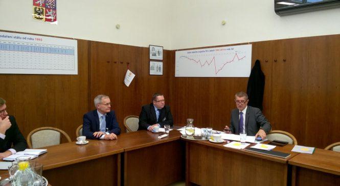 Energetické Třebíčsko jednalo s ministrem Babišem kvůli 5. bloku v Dukovanech