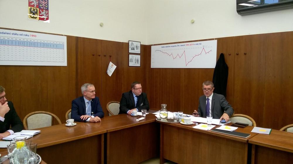 jaderná energie - Energetické Třebíčsko jednalo s ministrem Babišem kvůli 5. bloku v Dukovanech - Nové bloky v ČR (trebicsko) 2