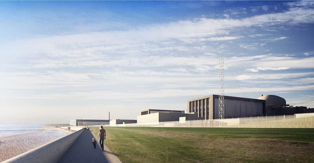 jaderná energie - Po brexitu by mohlo vzniknout celoevropské jaderné společenství - Nové bloky ve světě (CGI image of Hinkley Point C 1024) 1