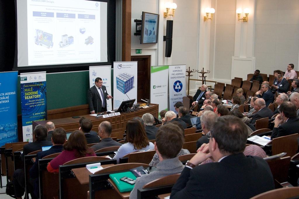 Konference SMR 2017 rozebírala potenciál českých firem pro projekty malých reaktorů
