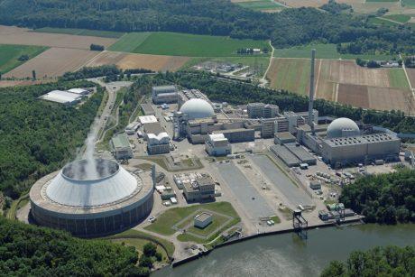 jaderná energie - Společnost EnBW je připravena zahájit likvidační práce na prvním bloku JE Neckarwestheim - Ve světě (Neckarwestheim aerial 460 EnBW) 1