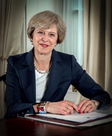 jaderná energie - Británie potvrzuje plán vystoupit z Euroatomu - Ve světě (Theresa May) 1