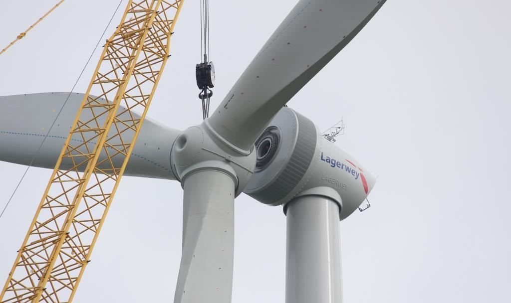 jaderná energie - Rosatom vstupuje na trh světrnou energetikou - Životní prostředí (rotor installation 1) 1