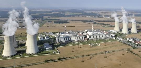 jaderná energie - JE Dukovany se připravuje na najetí druhého výrobního bloku - V Česku (594) 3
