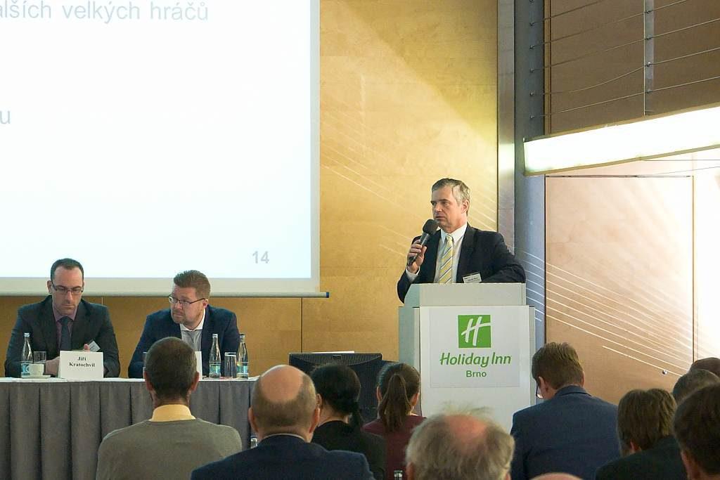 jaderná energie - Jádro bylo součástí každoroční konference Očekávaný vývoj odvětví energetiky - V Česku (DSC 2447 1 1024) 1