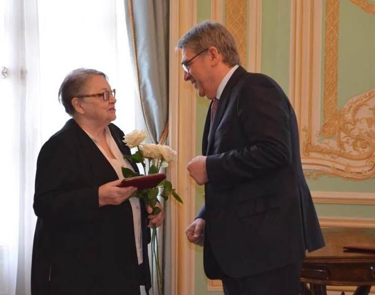 Veteránka české jaderné vědy získala cenu ruské jaderné korporace Rosatom