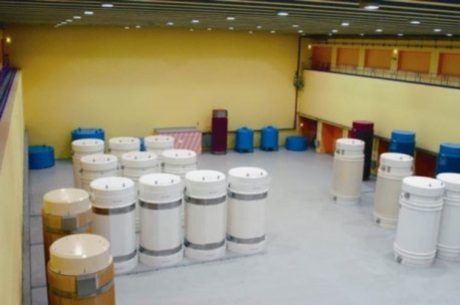 jaderná energie - Švýcarský regulátor zaměřil svoji pozornost na stárnoucí skladovací kontejnery - Ve světě (Waste containers at Zwilag 460 ENSI) 1