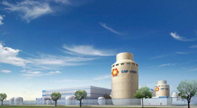 Na reaktory CAP-1400 se v Číně snáší kritika