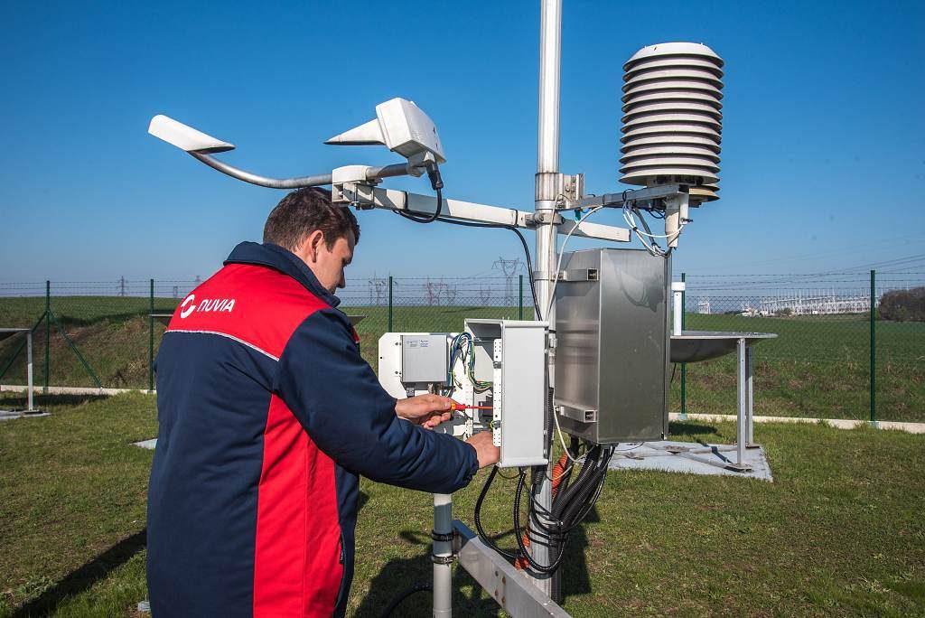 jaderná energie - Česká republika má nový monitorovací systém měření radiace v ovzduší, technologii dodala třebíčská NUVIA - V Česku (NUVIA stanička v terénu 1024) 1