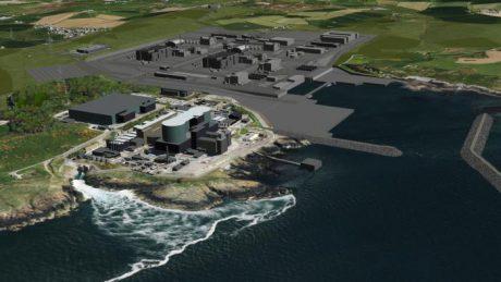 jaderná energie - Společnost Horizon požádala o licenci pro lokalitu JE Wylfa Newydd - Nové bloky ve světě (Wylfa Newydd Main Site th) 1