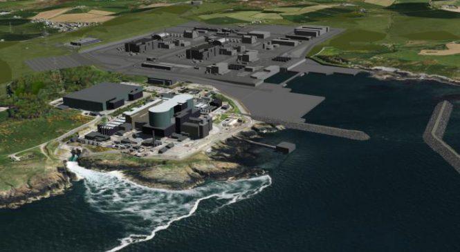 Společnost Horizon požádala o licenci pro lokalitu JE Wylfa Newydd