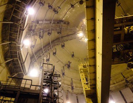 jaderná energie - Rusko zahájilo hermetické testy v JE Leningrad - Nové bloky ve světě (Leningrad II 1 hermetic tests 460 Rosatom) 1