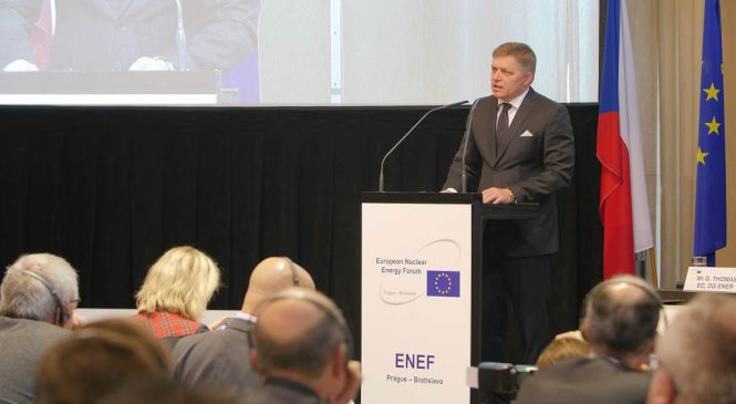Robert Fico: Moja vláda bude podporovať ďalší rozvoj jadrovej energetiky
