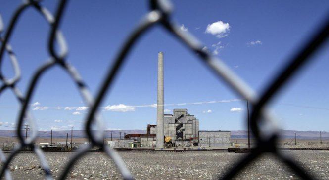 Propad tunelu v jaderné lokalitě Hanford