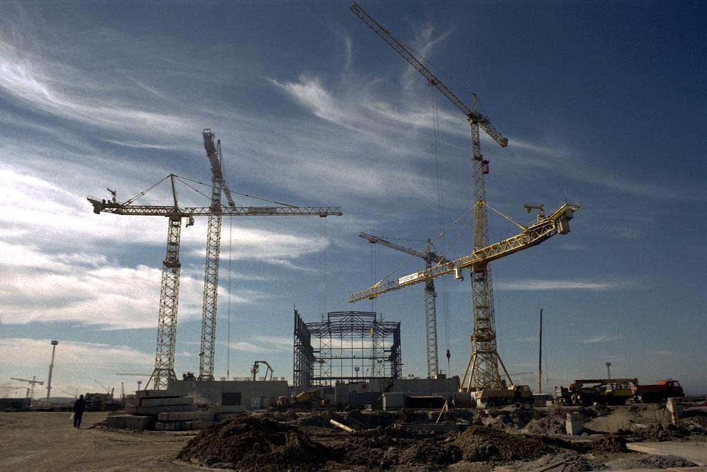 jaderná energie - Před 30 lety začala vČSSR výstavba jaderné elektrárny Temelín - V Česku (montaz strojovny 1024) 1