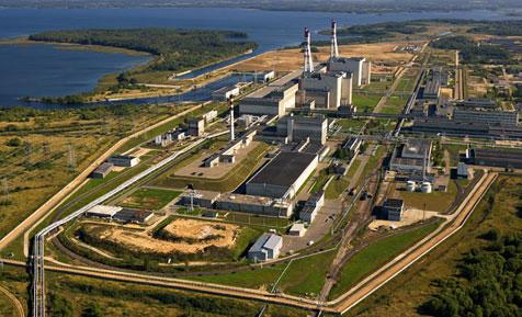 jaderná energie - Skladiště jaderného odpadu v JE Ignalina se o další krok přiblížilo komerčnímu spuštění - Ve světě (nuc 8 aerial photo of inpp 4) 1