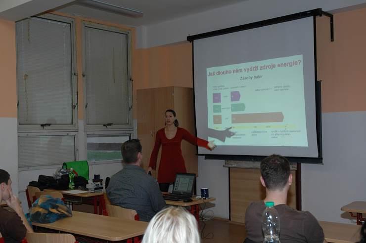 jaderná energie - Přednáška Energie - budoucnost lidstva na ZŠ Horáčkova v Praze 4 byla již 6000. v pořadí - V Česku (obr 01 740) 3