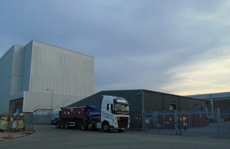 jaderná energie - JE Bradwell dokončuje zpracování zbytků palivových článků - Back-end (Bradwell FED removal 460 Magnox) 1