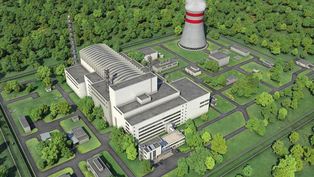 jaderná energie - Česko, Slovensko, Maďarsko a Polsko se zúčastní projektu reaktoru MBIR - Inovativní reaktory (mbir vizualizace 1024) 1