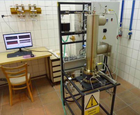 jaderná energie - Mezinárodní uznání WANO míří do Řeže - V Česku (steam generator chemical stand) 1