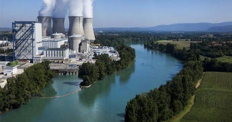 jaderná energie - Znovuspuštění pátého bloku JE Bugey po opravách kontejnmentu - Ve světě (Bugey plant 460 EDF) 2