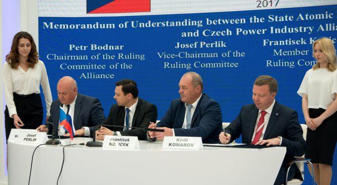 Atomexpo 2017: dohody s českým jaderným průmyslem