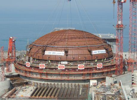 jaderná energie - temelin.cz: Flamanville: Jaderný dozor nařídil EDF výměnu víka tlakové nádoby reaktoru do roku 2024 - Zprávy (Flamanville dome installation EDF 460) 2