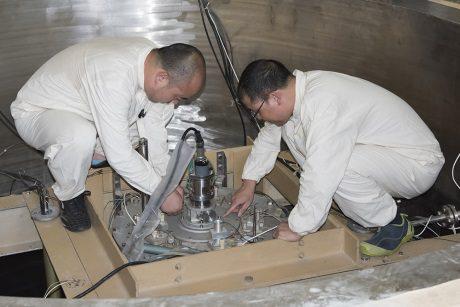 jaderná energie - Ghanský výzkumný reaktor je připraven na používání nízko obohaceného uranu - Ve světě (GHARR 1 fuel conversion 460 NNSA) 1