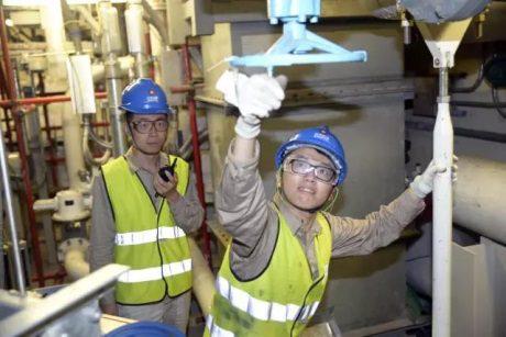jaderná energie - Další tři čínské reaktory se blíží uvedení do provozu - Nové bloky ve světě (Haiyang 2 containment tests 460 SNPTC) 1
