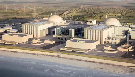 jaderná energie - Náklady na projekt JE Hinkley Point C vzrostly o 8 %, sdělila společnost EDF - Nové bloky ve světě (Hinckley Point C CGI 460 EDF Energy) 1