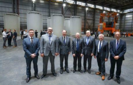 jaderná energie - Byla dokončena první zakládací kampaň do britského suchého skladiště - Ve světě (Sizewell B dry store fuel loading 460 Holtec) 1