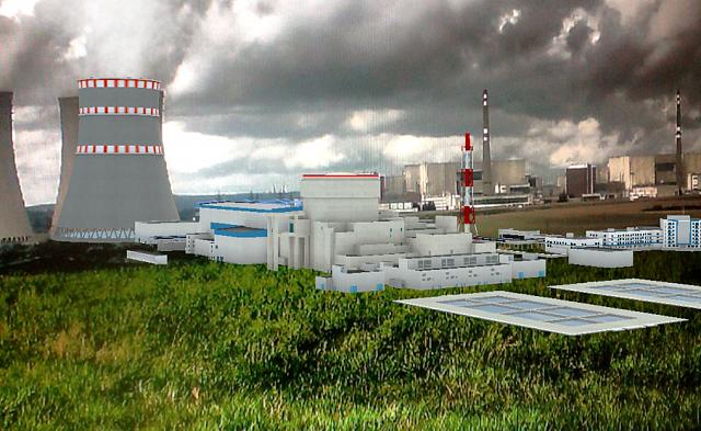 jaderná energie - HN: Češi jdou proti trendu a sází na jádro. Čas se krátí, o výstavbě nového bloku musí rozhodnout už příští vláda - Nové bloky v ČR (Vizualizace 5. bloku v Dukovanech s reaktorem typu VVER. Zdroj Rosatom) 1