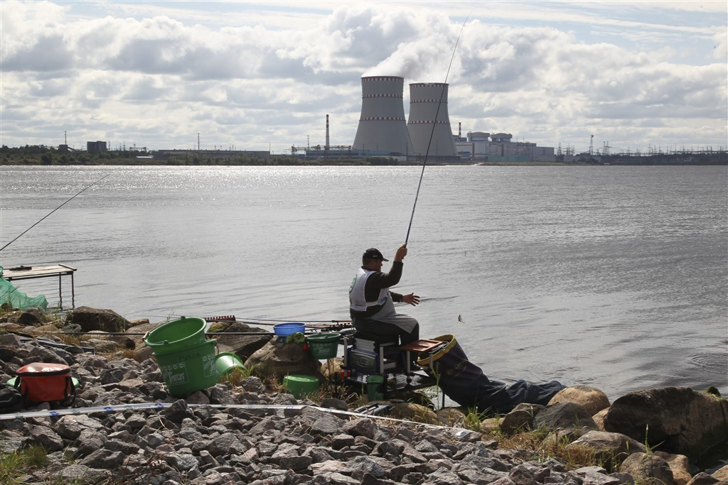 jaderná energie - prekon.cz: Rybolov u jaderných elektráren - Ve světě (1 1) 3
