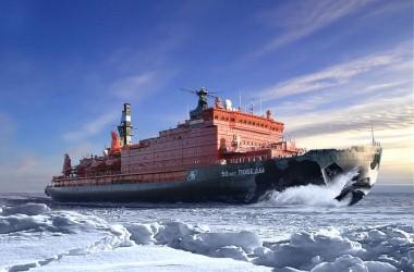 Rusko mapuje 40 let pokroku v oblasti jaderných ledoborců