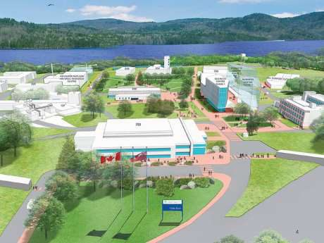 jaderná energie - Společnosti projevují zájem o plány pro kanadské malé reaktory - Ve světě (Chalk River vision CNL 460) 1