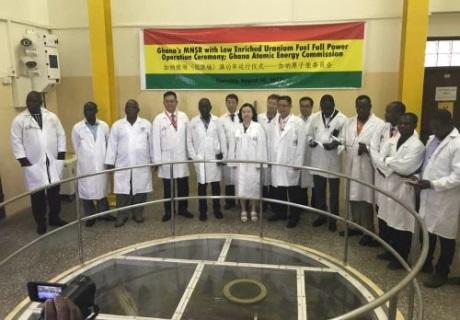 Ghanský reaktor po konverzi dosáhl plného výkonu
