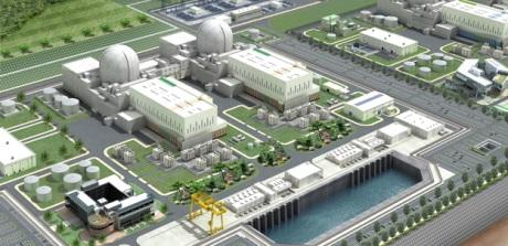 jaderná energie - Společnost KHNP představila výsledky korejsko-českého dobrovolnického projektu - V Česku (Shin Hanul 3 and 4 460 KHNP) 3
