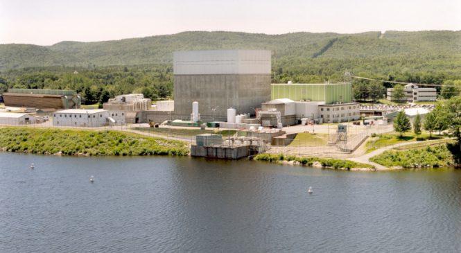Společnost Holtec pokročila s přípravou na likvidaci JE Vermont Yankee