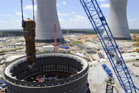 jaderná energie - V JE Vogtle byl umístěn první parogenerátor - Nové bloky ve světě (Vogtle Steam Generator 1 460) 1