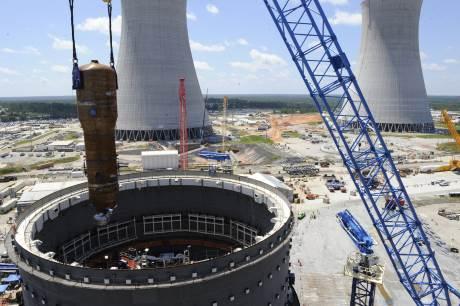 jaderná energie - V JE Vogtle byl umístěn první parogenerátor - Nové bloky ve světě (Vogtle Steam Generator 1 460) 3