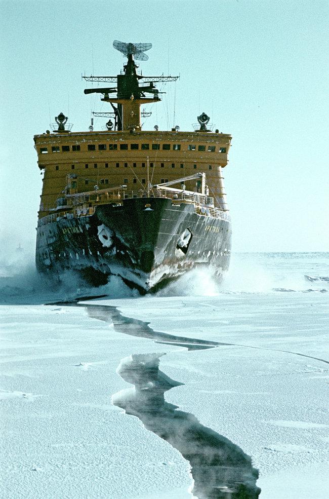jaderná energie - Jaderný ledoborec Sibiř již brzy vypluje na moře - Ve světě (724681369) 3