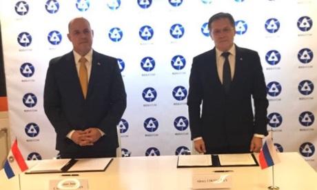 Rusko aParaguay podepsaly Mezivládní dohodu ospolupráci voblasti mírového využívání jaderné energie