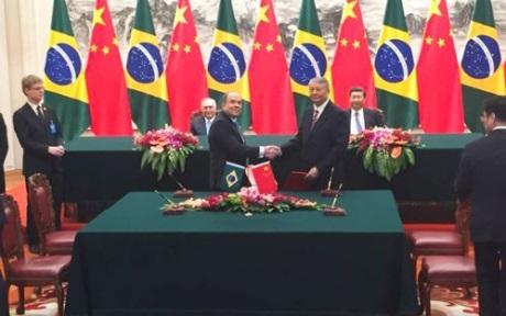 jaderná energie - Brazílie a Čína posilují jadernou spolupráci - Nové bloky ve světě (CNNC Eletrobras September 2017 460 CNNC) 3