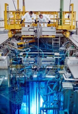 Začátek experimentu reaktoru na bázi roztavených solí v lokalitě Petten