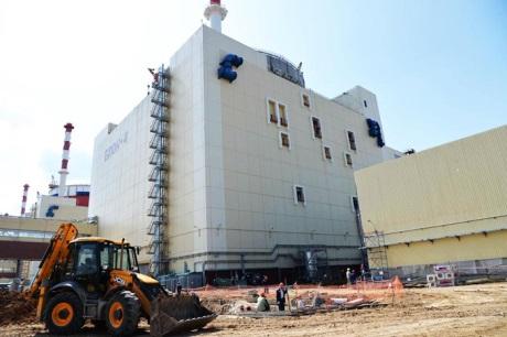 jaderná energie - Rusko testovalo hermetický systém čtvrtého bloku JE Rostov - Nové bloky ve světě (Rostov unit 4 460 Rosatom) 2