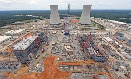 jaderná energie - Společnost Georgia Power doporučuje dokončení JE Vogle - Nové bloky ve světě (Vogtle 3 and 4 July 2017 460 Georgia Power) 3