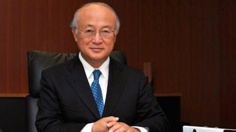 jaderná energie - Amano zůstane v čele agentury MAAE až do roku 2021 - Ve světě (Yukia Amano 460 D Calma IAEA) 1